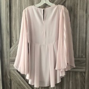 Vince Camuto Tops - Vince Camuto Blush Pink Blouse NWT
